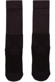 Y-3 Black & White Tube Socks