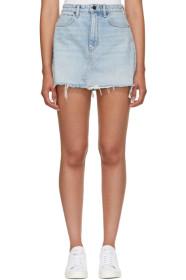 Blue Bite Denim Miniskirt