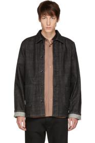 아페쎄 A.P.C. Black Kerlouan Denim Jacket