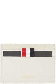 Thom Browne 톰 브라운 Beige Multi Leather Card Holder