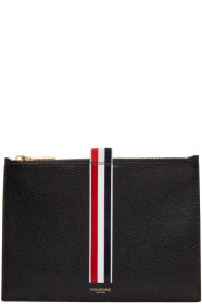 Thom Browne 톰 브라운 Black Large Coin Pouch