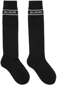 스텔라 맥카트니 Stella McCartney Black All Is Love High Socks