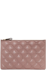 Pink 발렌티노 Valentino Garavani Large Candystud Pouch