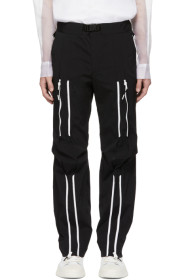 Black Bondage Lounge Pants