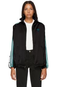 아디다스 Adidas Black AdiBreak Track Jacket