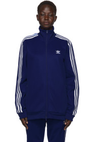 아디다스 Adidas Blue Franz Beckenbauer Track Jacket