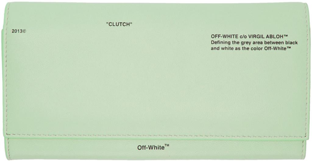 Green Big 'Off' Wallet