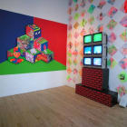 Paper Rad, 2004, installation view, Foxy Production, New York