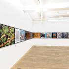 Sara Cwynar, Flat Death, 2014, installation view, Foxy Production, New York. Photo: Mark Woods.