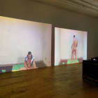 Sterling Ruby, The Masturbators, 2009, 9 channel video with sound, dimensions variable, edition of 3 with 2 AP, SR_FP1364, installation view, Foxy Production, New York. Photo: Mark Woods