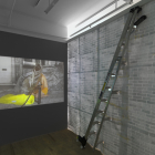 Deville Cohen, The Wall, 2008, video installation, duration 7 min. 59 sec., dimensions variable