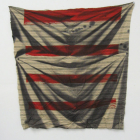 Heather Cook, Untitled, 2007, dye and silkscreen on cotton jersey, 32.5 x 33 in.
