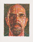 Chuck Close: Self Portrait (Scribble)