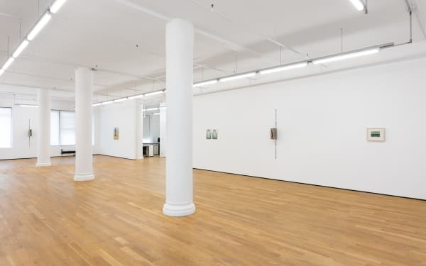 Figure in a Landscape, 2018, Installation view, Foxy Production, New York