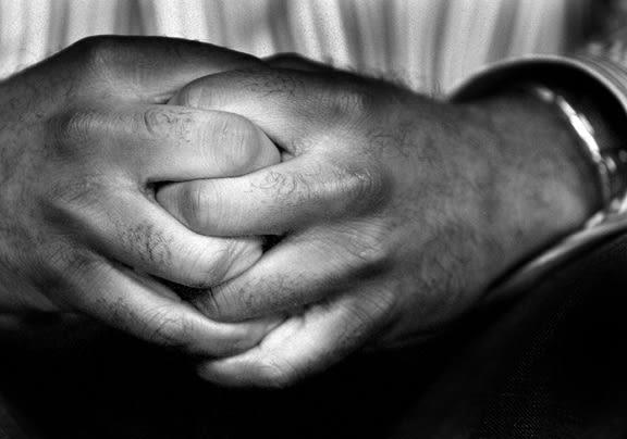 Javal Davis hands