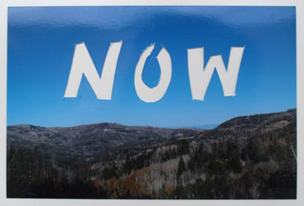 """""""Now"""" by Annie Buckley, 2009/2015"""