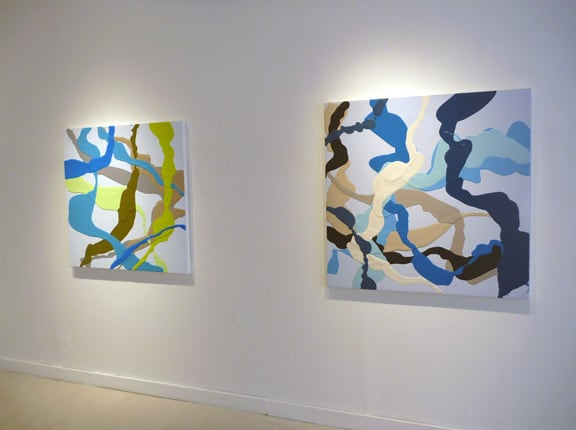 (Exhibition view): Channels, 2011