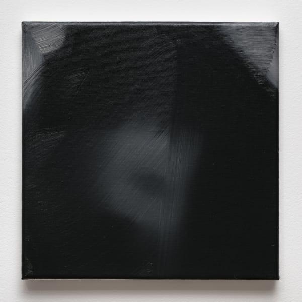 Rafal Bujnowski, Portrait, 2017, oil on canvas, 13 3/4 x 13 3/4 in. (35 x 35 cm) RB_FP4121
