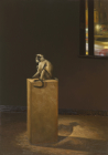 Jacques and Jacqueline, Artist Unknown, 2011, monkey and mixed media, dimensions variable