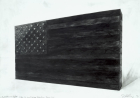The Ballot or the Bullet - Study for Giant Bronze Flag