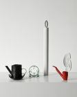 Group Set: Alarm Clock Study, Hat Pot (Soot), Single Candle (bone), Red Pipe with Smoke
