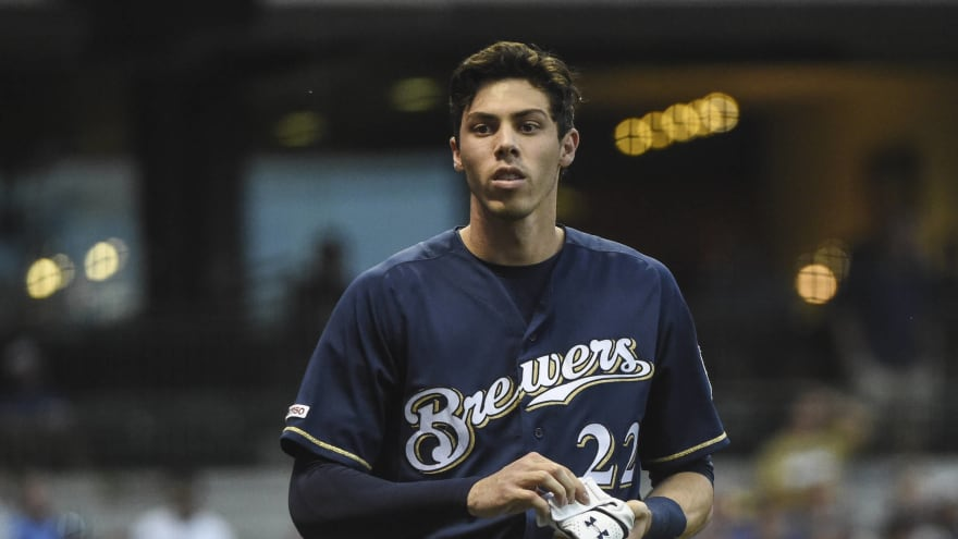 Christian Yelich trolls complaining fan with Roxanne at