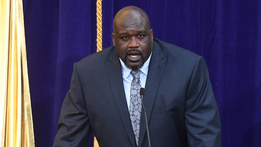 Shaquille O'Neal recalls David Stern's great line about 'Hack-a-Shaq'