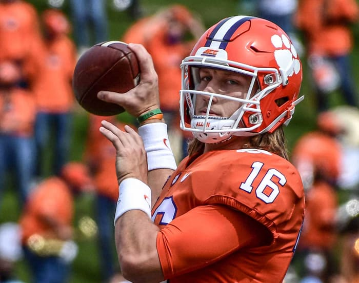New York Jets: Trevor Lawrence, QB, Clemson