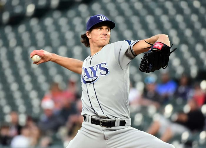 2018: Pirates trade Tyler Glasnow, Austin Meadows, and Shane Baz to the Rays for Chris Archer