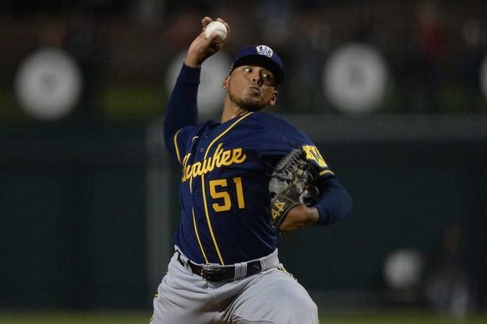 Milwaukee Brewers: Freddy Peralta, P