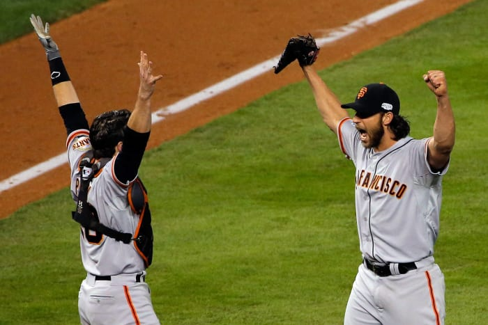 2014: Game 7 - San Francisco Giants 3, Kansas City Royals 2
