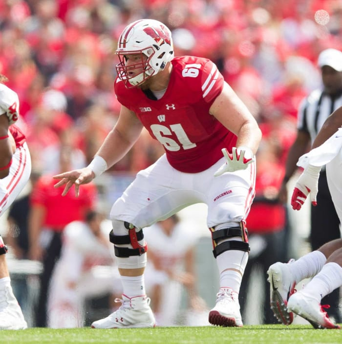Los Angeles Rams: Tyler Biadasz, OL, Wisconsin