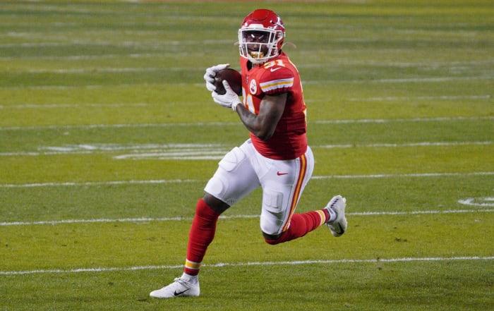 Chiefs: Darrel Williams, RB