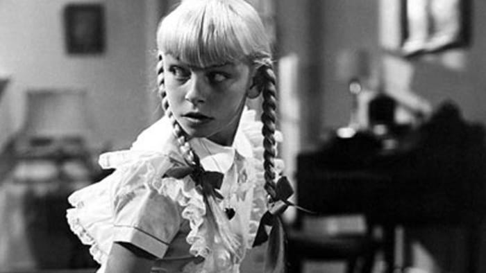 "Rhoda Penmark, ""The Bad Seed"" (1956)"