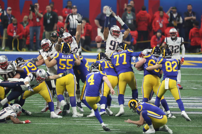 Super Bowl LIII: Rams' bad day means big bucks for one bettor