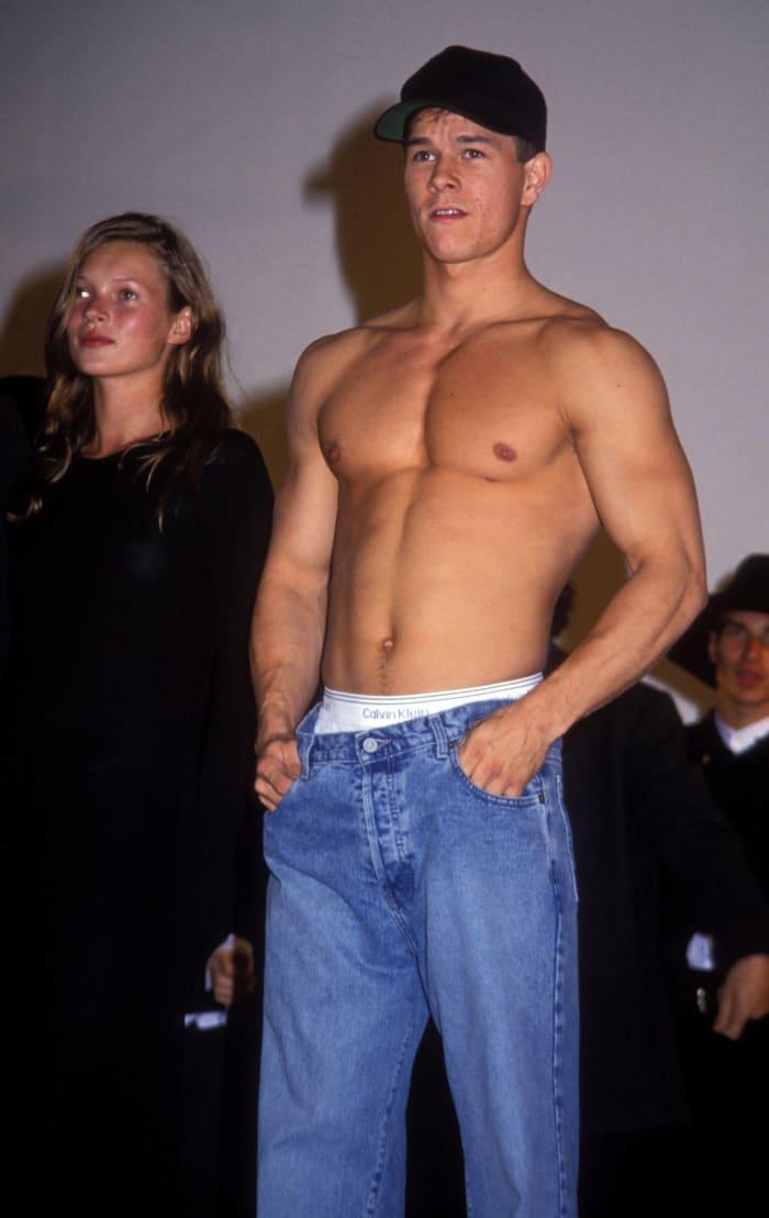 1992: Mark Wahlberg in Calvin Klein