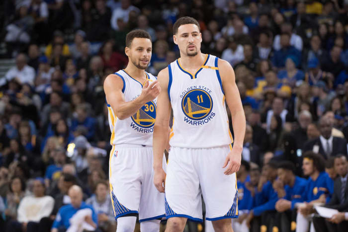Stephen Curry and Klay Thompson, Golden State Warriors