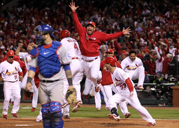 2011: Game 6 - St. Louis Cardinals 10, Texas Rangers 9 (12 innings)