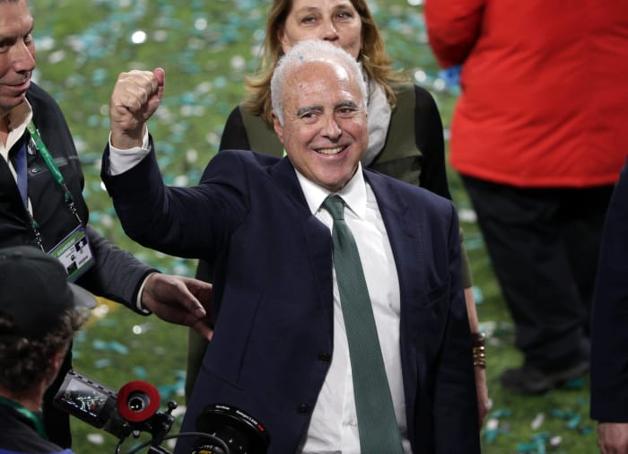 Philadelphia Eagles: Jeffrey Lurie (.558)