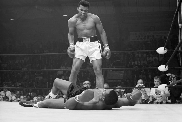 Ali successfully defends the title on multiple occasions