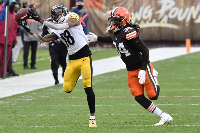 Will Browns be equipped to stop Steeler receivers?