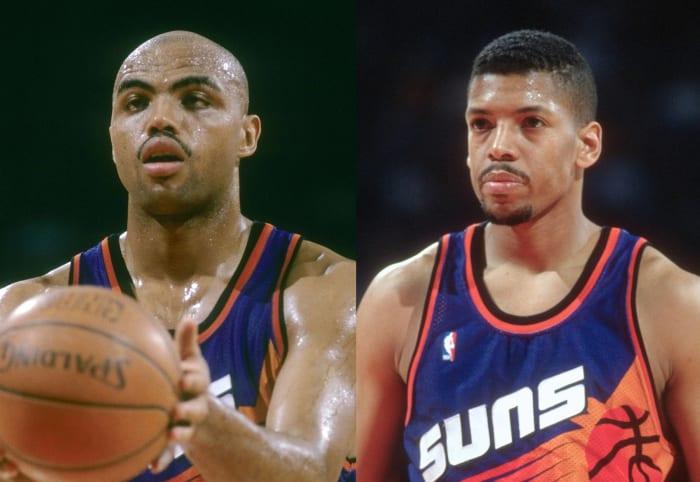 Charles Barkley and Kevin Johnson, Phoenix Suns