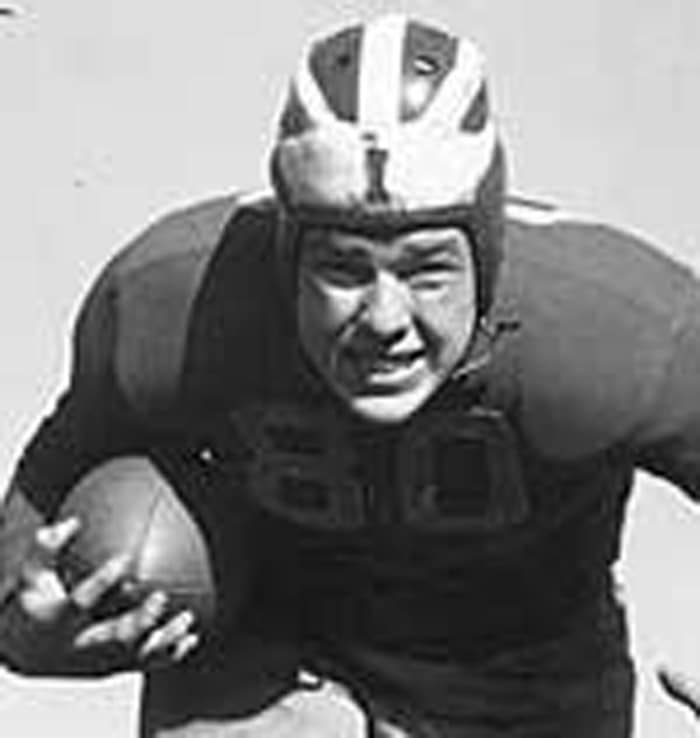 Corby Davis, FB, Cleveland Rams (1938)