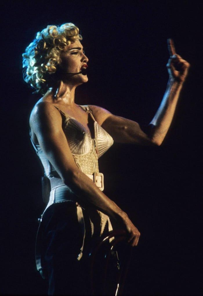 1990: Madonna's cone bra