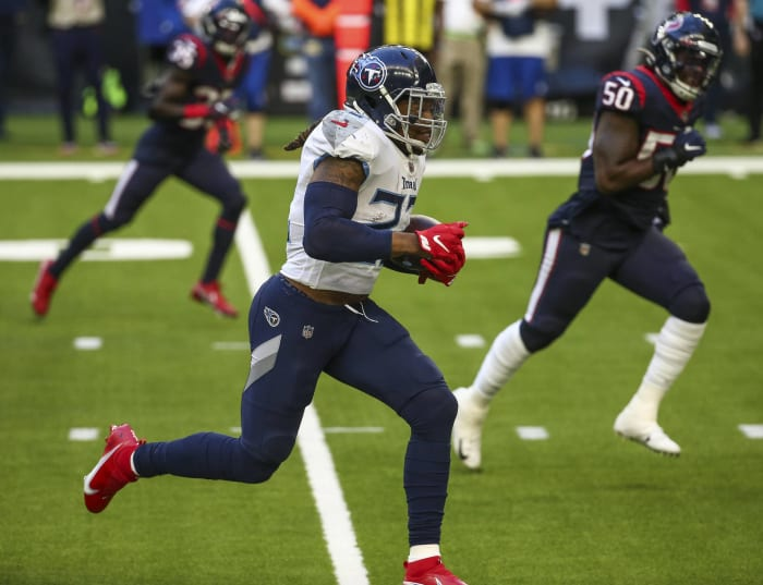 Titans need every Derrick Henry yard to beat Texans