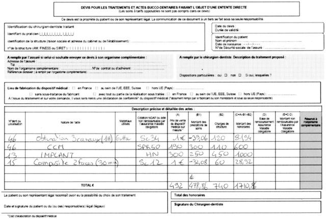Eugenol   Nouveau devis et Implantologie ( ou comment foutre le ... 8248af53e740