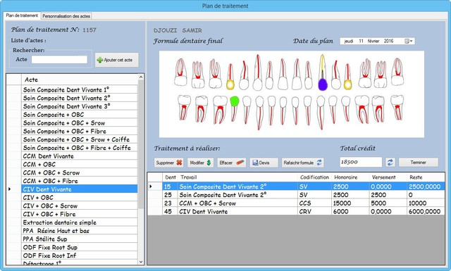 eugenol logiciel de gestion du cabinet dentaire ihsan dental management. Black Bedroom Furniture Sets. Home Design Ideas