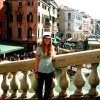 A student studying abroad with Fairfield University: Florence - Semester or Year Program