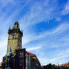 A student studying abroad with UPCES - Study Abroad in Prague (CERGE-EI, Charles University)
