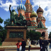 A student studying abroad with Middlebury Schools Abroad: Middlebury in Moscow